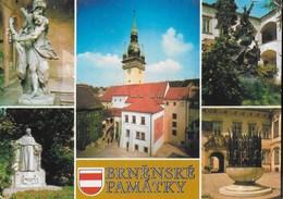 REPUBBLICA CECA - BRNENSKE PAMATKY VIAGGIATA 1991 - Repubblica Ceca