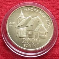 Hungria Hungary 2000  Forint 2015 Bible Of Vizsoly - Hungary