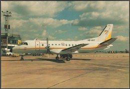 Air Exel SAAB 340A C/N 171 HB-AHY - Flightdeck Postcard - 1946-....: Modern Era
