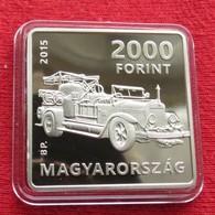 Hungria Hungary 2000  Forint 2015  Auto Car Kornel Szilvay PROOF - Hungary