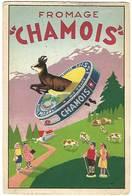 "Fromage ""Chamois"" - Werbepostkarten"