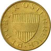 Monnaie, Autriche, 50 Groschen, 1986, SUP, Aluminum-Bronze, KM:2885 - Autriche