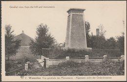 Vue Générale Des Monuments, Waterloo, Wallonie, C.1910 - Dohmen CPA - Waterloo