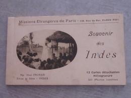 Carnet Souvenir Des Indes - India