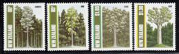 New Zealand 1989 MNH Scott #956-#959 Trees Kahikatea, Rimu, Totara, Kauri - Unused Stamps