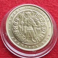 Hungria Hungary 2000  Forint 2018  Coin Gold Florin Of Albert Habsburg - Hungary