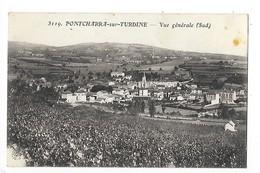 PONTCHARRA Sur TURDINE (cpa 69)  Vue Générale (sud)   - L 1 - Pontcharra-sur-Turdine
