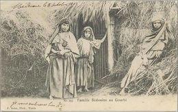 CPA TUNISIE - Famille Bédouine Au Gourbi - Ed. F. Soler N°165 - 06/10/1903 - Tunisia