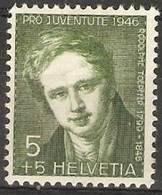 Switzerland- 1946 Pro Jiventute 5c MH * - Pro Juventute