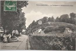 17-CPA-TAILLEBOURG LA TERRASSE ET L AVENUE DE LA GARE - France