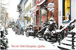 CARTE POSTALE - CANADA - QUEBEC - RUE DU PETIT CHAMPLAIN - Québec - La Cité