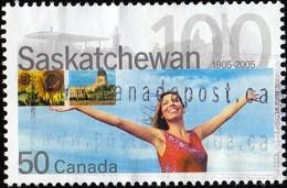 Canada - Scott #2117 Saskatchewan, 100th Anniv. / Used Stamp - 1952-.... Reign Of Elizabeth II