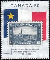 Canada - Scott #2119 Acadian Deportation, 250th Anniv. / Used Stamp - 1952-.... Reign Of Elizabeth II