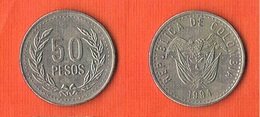 Colombia 50 Pesos 1994 KM#283.2 - Colombie