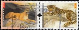 Canada - Scott #2123a Wild Cats / Used Stamp - 1952-.... Reign Of Elizabeth II