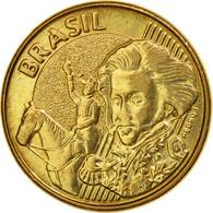 Monnaie, Brésil, 10 Centavos, 2006, SUP, Bronze Plated Steel, KM:649.2 - Brazil