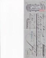 LANGNAU PROBST FILS EXPORTATION DE FROMAGES SUISSES EMMENTAL ANNEE 1879 TIMBRE CACHET B 37837 C - Suisse