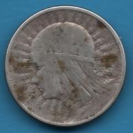 POLAND 2 ZLOTE 1934  KM# 20  Argent 750‰ Silver - Polonia