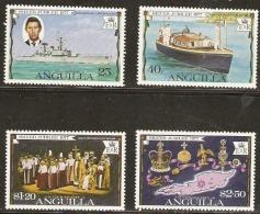 Anguilla  1977  SG  269-72  Silver Jubilee  Unmounted Mint - Anguilla (1968-...)