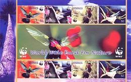 (WWF-361) W.W.F. Dominica MNH Bird / Birds Sheetlet 2005 - W.W.F.