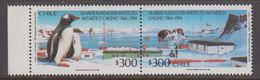 Chile 1994 Antarctica 2v Se Tenant ** Mnh (40979) - Stamps