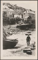 Coverack, Cornwall, C.1930s - Hawke RP Postcard - England