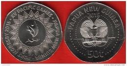 """Papua New Guinea 50 Toea 2015 """"XV Pacific Games"""" UNC - Papouasie-Nouvelle-Guinée"""
