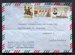 Angola 1966  Letter To Denmak   ( LOT 4327 ) - Angola