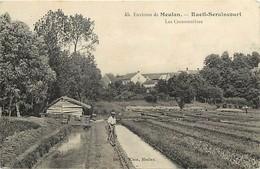 - Dpts Div.- Ref-AD844- Yvelines - Rueil Seraincourt - Les Cressonnieres - Cressonniere - Horticulture - Agriculture - - France