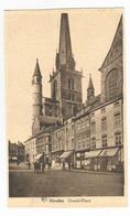 Nivelles Grand Place Carte Postale Ancienne - Nivelles