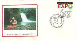 UNIVERSAL EXPO BRISBANE 1988. Western Samoa National Day Celebration, Brisbane. Australie 1988 - Samoa