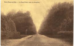 NOTRE-DAME-AU-BOIS  Le Rond -point , Route De Bruxelles. - Overijse