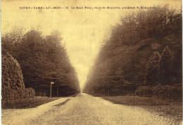 NOTRE-DAME-AU-BOIS    Le Rond Point , Route De Bruxelles , Précèdant ND -bois. - Overijse