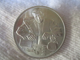 Suisse: Médaille Association Suisse Des Employés De Banque 1918 - 1968 - Gettoni E Medaglie