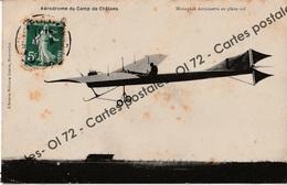 CPA - Avions - Monoplan Antoinette En En Plein Vol - Aérodrome Du Camp De Chalons - ....-1914: Precursori