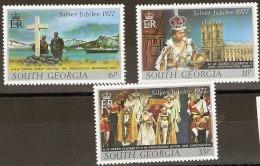 South Georgia   1977  SG 50-2  Silver Jubilee   Unmounted Mint - South Georgia