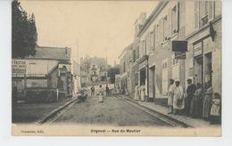ORGEVAL - Rue Du Moutier - Orgeval