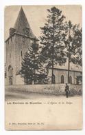 La Hulpe L'Eglise Carte Postale Ancienne - La Hulpe