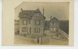 ORGEVAL - Belle Carte Photo Montrant Une Villa , Carte écrite Par Sa Propriétaire En 1908 - Orgeval