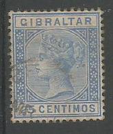 Victoria 25c Outramer - Gibraltar