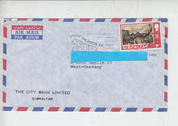 GIBILTERRA - Veduta - Lettera Per  Germania - Gibilterra