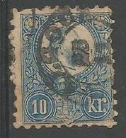 Francois Joseph 10k Blue - Hungary