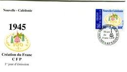 FDC Nouvelle-Calédonie Yvert 688 - Création Du Franc Pacifique - R 5443 - FDC