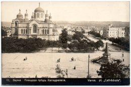 BULGARIE - VARNA - Place Cathédrale - Bulgarie