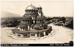 BULGARIE - SOFIA - Place Al Nevsky - Bulgarie