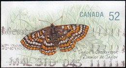 Canada - Scott #2287 Taylor's Checkerspot Butterfly / Used Stamp - Butterflies