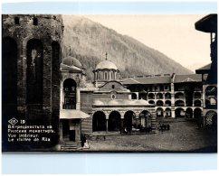 BULGARIE - Vue Intérieure - Le Cloitre De RILA - Bulgarie