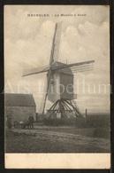 Postkaart / Postcard / Machelen / Le Moulin à Vent / Windmolen / 2 Scans / Molen Van Bal (?) - Machelen