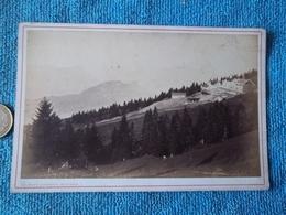 Rigi,kaltbad Photo Cartonnée Vers 1862 Par Braun Et Compagnie - Anciennes (Av. 1900)