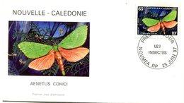 FDC Nouvelle-Calédonie Yvert 731 - Papillon - R 5453 - FDC